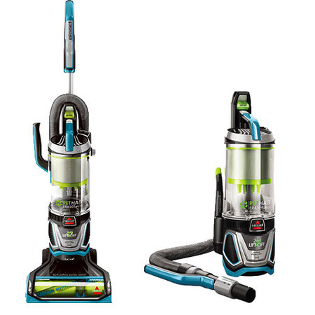 BISSELL Pet Hair Eraser Lift-Off Bagless Upright Vacuum Cleaner,