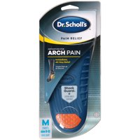 Dr. Scholl's Pain Relief Orthotics for Arch Pain for Men, 1 Pair, Size 8-12