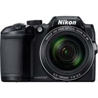 Nikon Black COOLPIX B500 Digital Camera with 16 Megapixels and 40x Optical Zoom