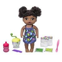 Baby Alive Sweet Spoonfuls Baby Doll Girl-Black Hair