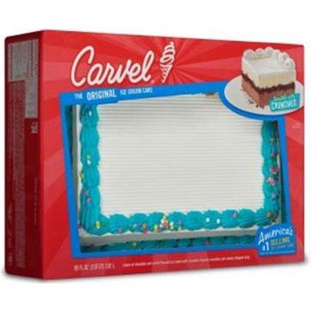 Carvel Party Size Ice Cream Cake Chocolate And Vanilla Ice Cream