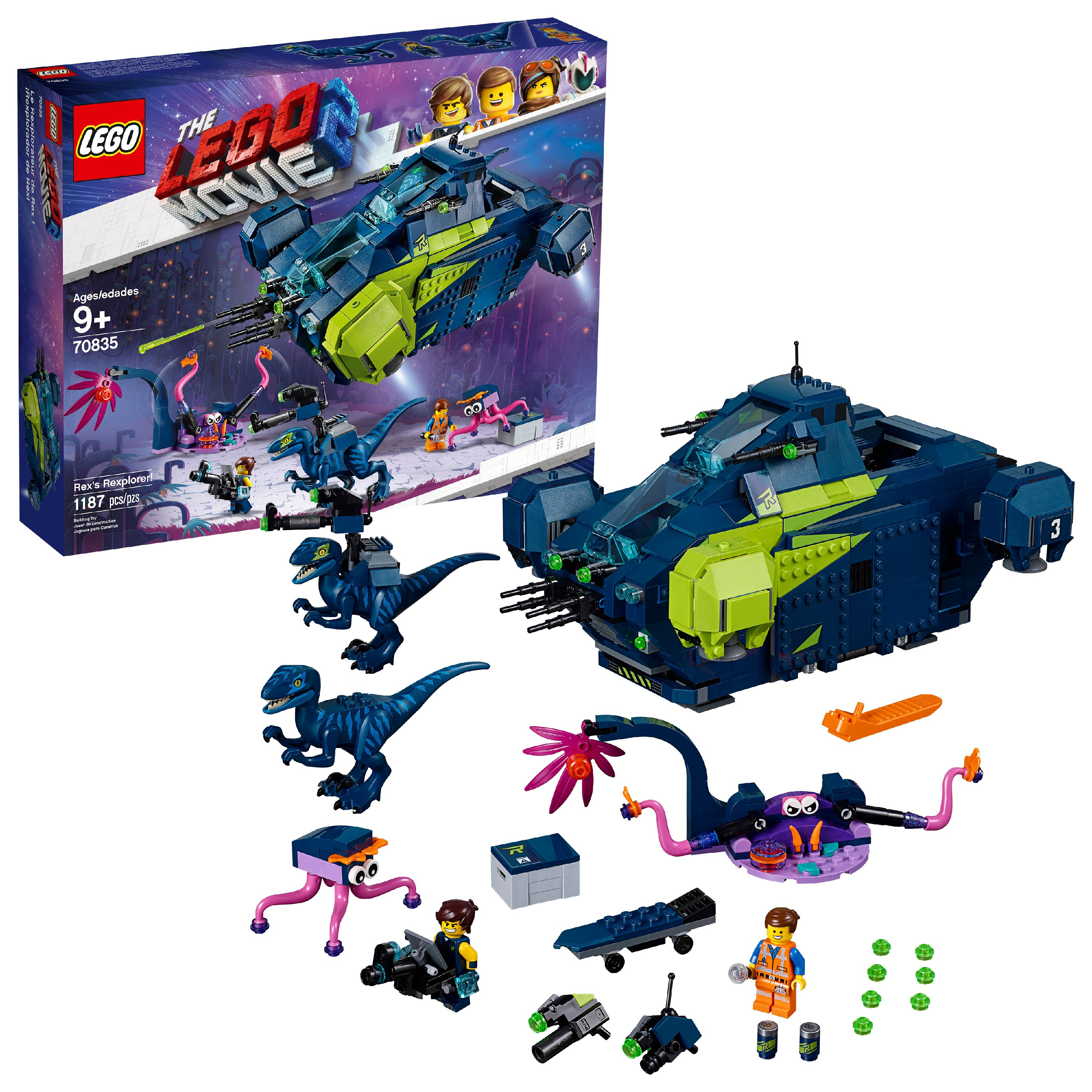 LEGO Movie Rex's Rexplorer ONL...
