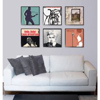 Record Album or Scrapbook Picture Frame 12.5x12.5, Set of 6