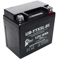 UpStart Battery Replacement 2010 Honda CRF230F, L (-'07) 230CC Factory Activated, Maintenance Free, Motorcycle Battery - 12V, 4Ah, UB-YTX5L-BS