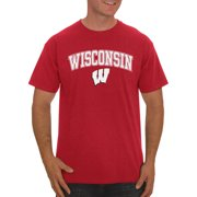 e79d87bc4 Russell NCAA Wisconsin Badgers Big Men s Classic Cotton T-Shirt