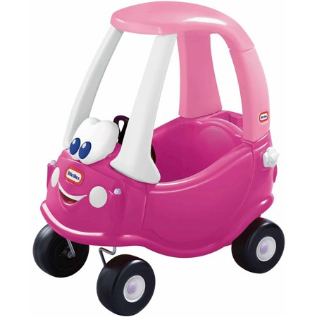 - Little Tikes Princess Cozy Coupe Ride-On, Dark Pink