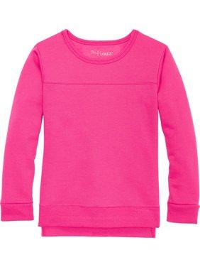 Solid Fleece Hi-Lo Sweatshirt (Little Girls & Big Girls)