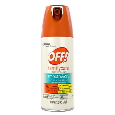 (2 pack) OFF! FamilyCare Insect Repellent I, Smooth & Dry, 2.5 Ounces, 1 count