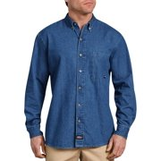 87e418a0ea2 Men s Long Sleeve Button Down Denim Shirt