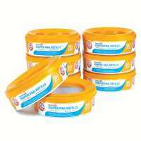 Munchkin Arm and Hammer Diaper Pail Refill Rings, 2,176 Count, 8 Pack