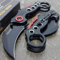 Tac-Force Tactical Pocket Knives Black Blade Tactical Knife