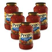 (5 Pack) Prego Roasted Garlic & Herb Italian Sauce, 24 oz.