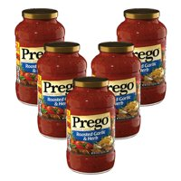 (5 Pack) Prego Roasted Garlic & Herb Italian Sauce, 24 oz.