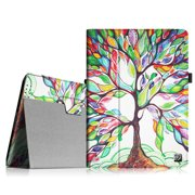 Fintie iPad 2/ iPad 3/ iPad 4 Gen Folio Case - PU Leather Cover with Auto Wake/ Sleep Feature, Love Tree