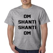 Om Shanti Shanti Om Yoga Mens T-shirt