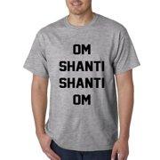 09a73e77362 Om Shanti Shanti Om Yoga Mens T-shirt
