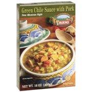 Bueno Green Chile With Pork Sauce, 16 oz