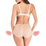 d5ae0e79ed5 SAYFUT Women s Fake Butt Padded Panties Underwear Silicone Butt Hip  Enhancer Shaper Panty