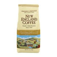 (3 Pack) New England Coffee Chocolate Cappuccino Medium Roasted Freshly Ground, 11.0 OZ