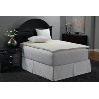 Mainstays 1.375 inch Memory Foam Combo Mattress Topper,Multiple Sizes
