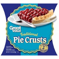 """Great Value Traditional 9"""" Pie Crusts, 2ct"""