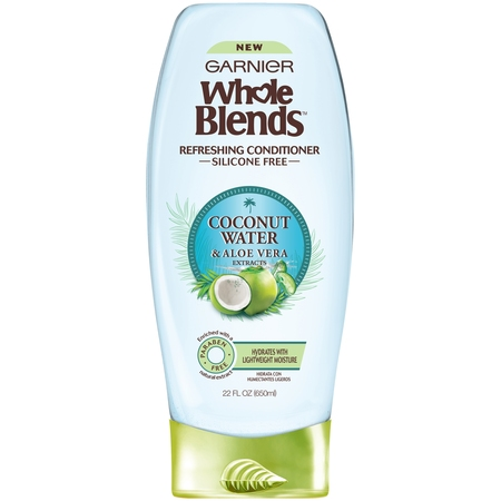 Garnier Whole Blends Coconut Water & Aloe Vera Extracts Refreshing Shampoo 22 fl. oz. Bottle