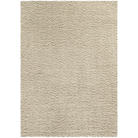 Mainstays Manchester Solid Cut Pile Shag Area Rug or Runner (Collection Shaw Rugs)
