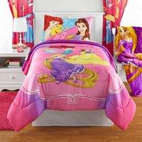 Disney's Princess Bedazzling Princess Bed in Bag Bedding Set