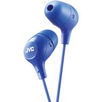 JVC HAFX38A Marshmallow Inner-Ear Headphones (Blue)