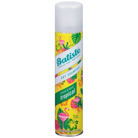 Batiste Dry Shampoo, Tropical Fragrance, 6.73 fl. oz. Dry Shampoo Hair Powder