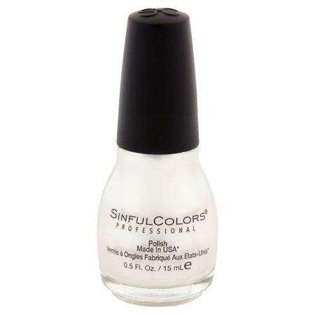 Sinful Colors Professional Nail Polish, Tokyo Pearl, 0.5 Fl (Best Nail Polish Color For Summer 2016)