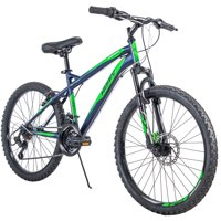 "Huffy 24"" Nighthawk Boys' Mountain Bike, Blue"