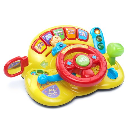 VTech Turn & Learn Driver With Steering Wheel and Traffic Light](Learning Toys For 3 Year Olds)