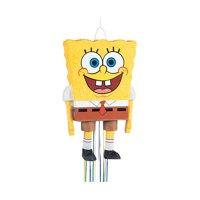 SpongeBob SquarePants Pinata, Pull String, 23 x 14 in, 1ct