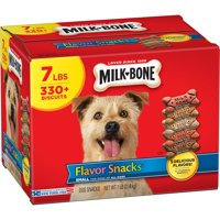 Milk-Bone Flavor Snacks Dog Biscuits - for Small/Medium-sized Dogs, 7-Pound Bag
