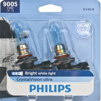 Philips CrystalVision Ultra Headlight 9005, Pack of 2