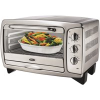 Oster 6-Slice Stainless Steel Toaster Oven, 006056-115-000