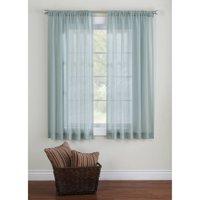 Better Homes & Gardens Elise Woven Stripe Sheer Window Panel