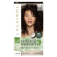 Clairol Natural Instincts Hair Color, 4 Dark Brown