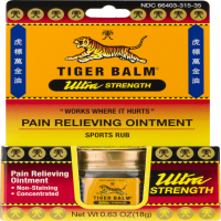 Tiger Balm Ultra Strength Pain Relieving Ointment Non-Staining 18 gm []