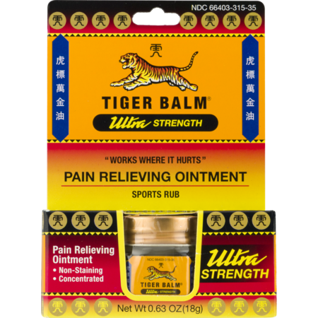 Ultra Strength Pain Relieving Ointment Non-Staining 18 (Best Muscle Rub For Runners)