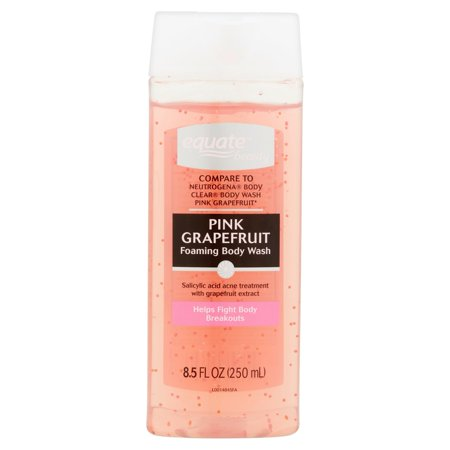 Equate Beauty Clarifying Pink Grapefruit Body Wash, 8.5 fl