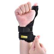 YMIKO Medical Thumb Spica Splint Brace Hand Wrist Support Stabiliser Sprain Arthritis