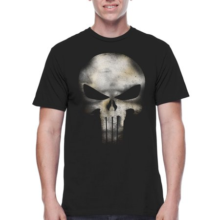 Super Heroes & Villains Punisher no sweat big men's graphic t-shirt, 2xl (Best Superhero Suits)