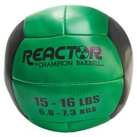 Reactor by Champion Barbell™ 15-16 lb. Medicine Ball