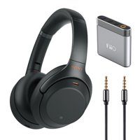 Sony WH1000XM3 Wireless Noise Canceling Headphones with Amplifer and Aux Cable