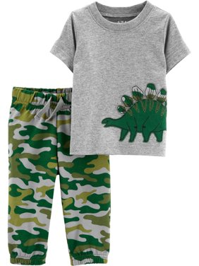 Short Sleeve T-Shirt and Pants Set, 2 pc set (Toddler Boys)