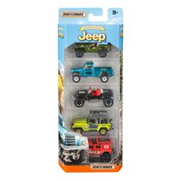 Matchbox Jeep 75th Anniversary 5-Pack