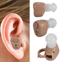 Lv. life Mini Hearing Aid In Ear Adjustable Volume Sound Amplifier for The Elderly Adults Men & Women