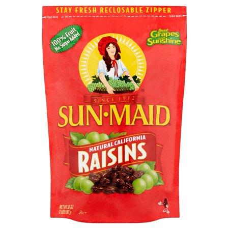 Sun-Maid Natural California Raisins, 32 - Mission California Figs